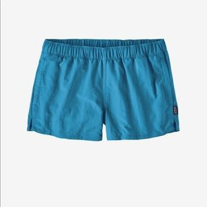 Patagonia Barely Baggies Board Shorts in Joya Blue